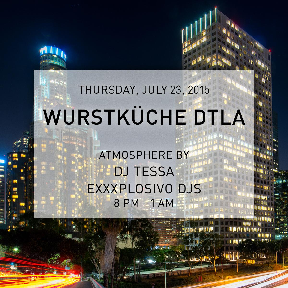 Wurstküche DJ – DJ TESSA