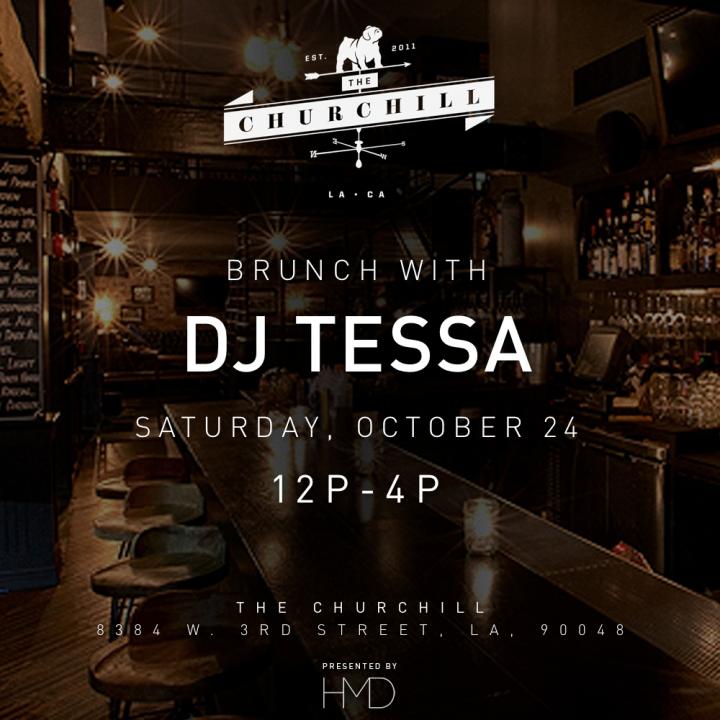 DJ Tessa HMD Churchll Brunch